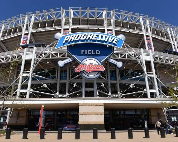 Progressive Field in Cleveland, Ohio.