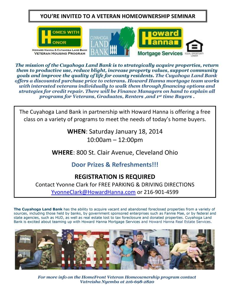 Homeownership seminar flyer