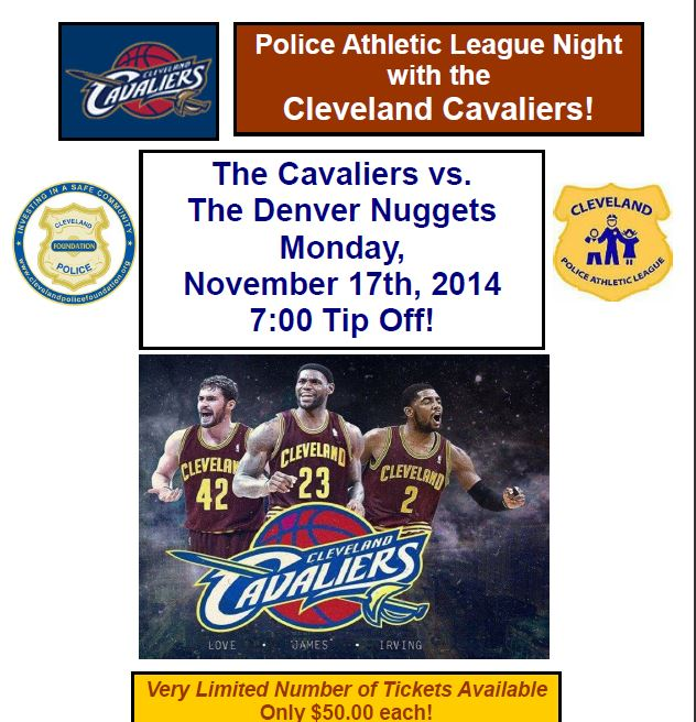 See The Cavs Play The Denver Nuggets On Monday, November
