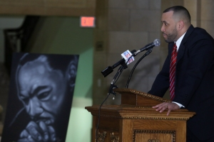 The Black History Month kick-off event honored past and upcoming leaders