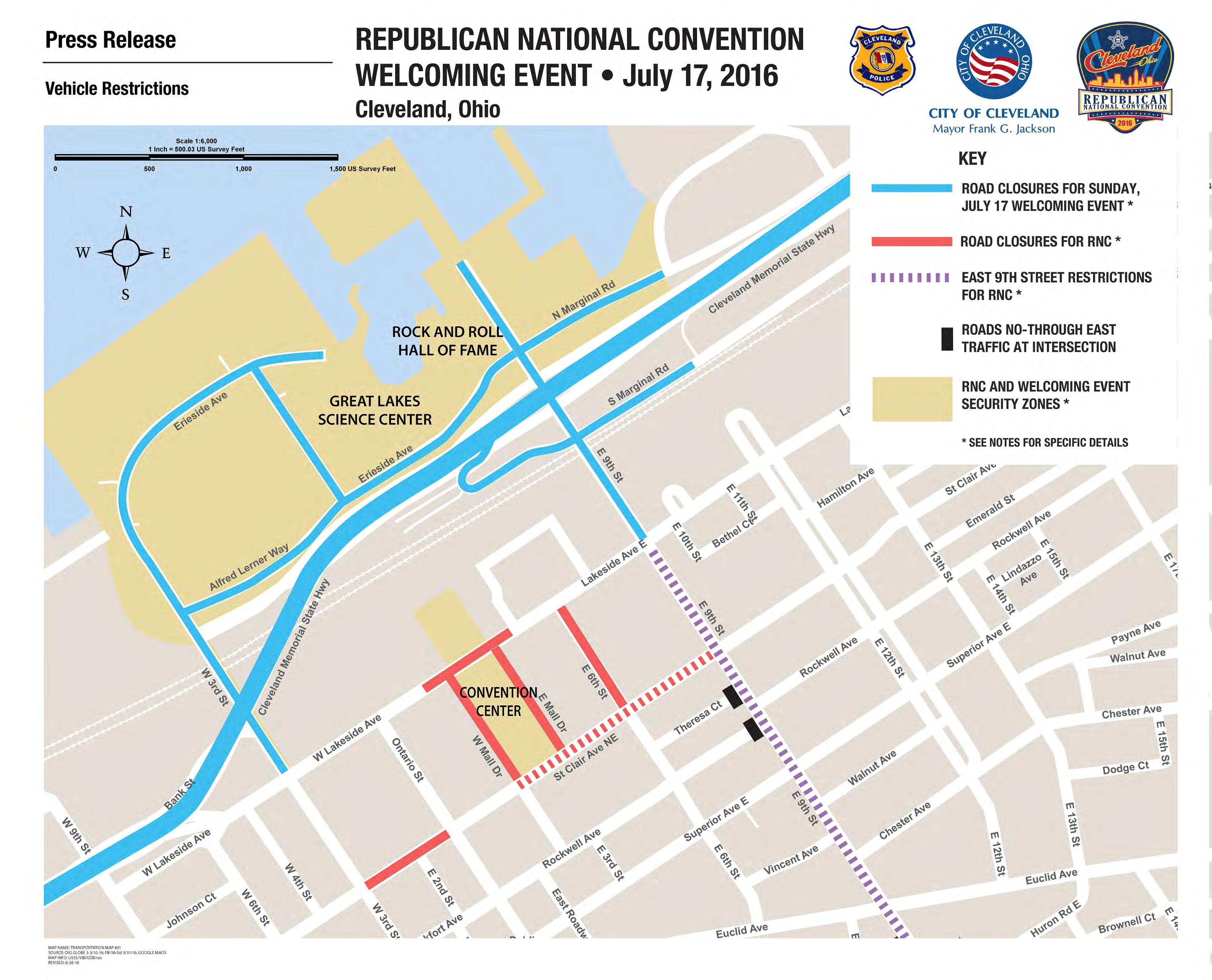 RNC Straight From City Hall - Us map of republican city
