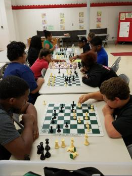 Chess at Clark 1